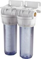 Porte filtre double sans cartouche charbon